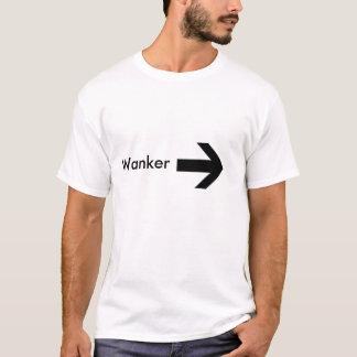 right arrow, Wanker T-Shirt
