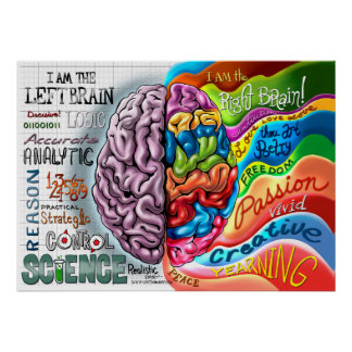 how to develop left brain