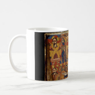 Right Diptych Panel with Virgin and Child Flanked Coffee Mug
