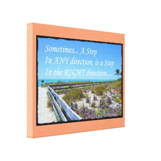 Right Direction Canvas Print
