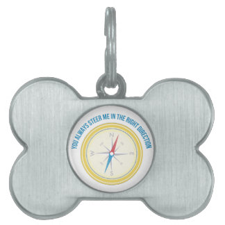 Right Direction Pet ID Tag