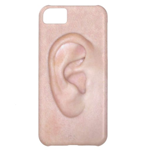 Right Ear Case For iPhone 5C