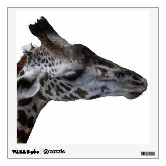 Right-facing Giraffe Wall Decal