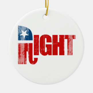RIGHT Faded png Christmas Tree Ornament