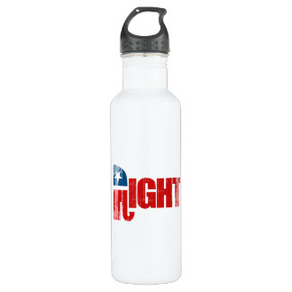 RIGHT Faded.png 24oz Water Bottle