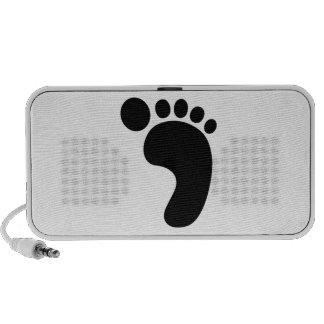 Right Foot Travelling Speaker