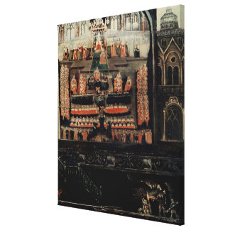 Right hand side of Diptych showing the Parliament Canvas Print