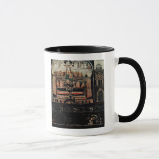 Right hand side of Diptych showing the Parliament Mug