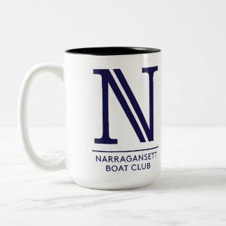 Right Handed NBC 15 oz Two-Tone Mug