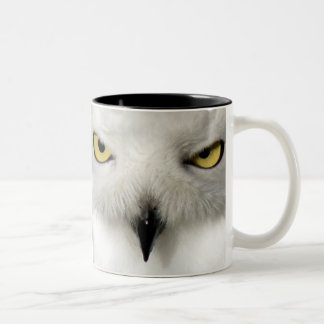 Right-Handed Snow Owl Mug