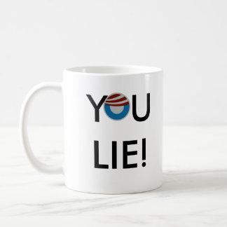 Right-handed You Lie! Mug Mugs
