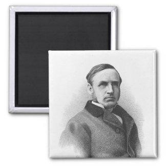 Right Honourable John Morley 2 Inch Square Magnet