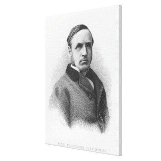 Right Honourable John Morley Canvas Print