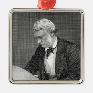 Right Honourable Lord John Manners Metal Ornament