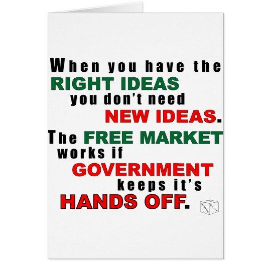 Right Ideas Card