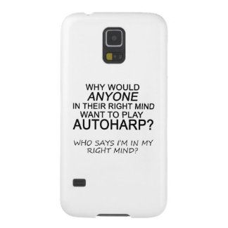 Right Mind Autoharp Galaxy S5 Cover