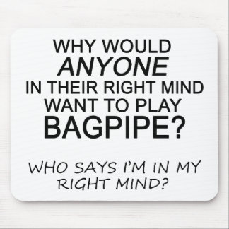 Right Mind Bagpipe Mousepads
