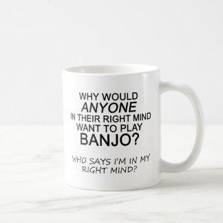 Right Mind Banjo Coffee Mug