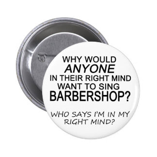 Right Mind Barbershop Button