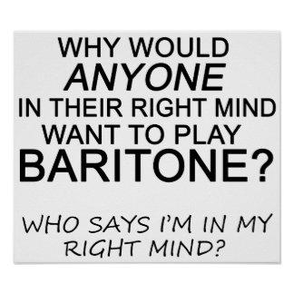 Right Mind Baritone Poster