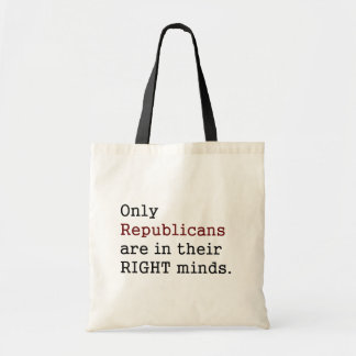 Right Mind Canvas Bag