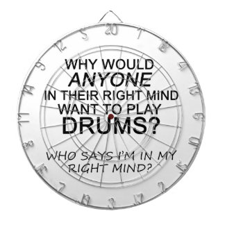Right Mind Drums Dartboard With Darts