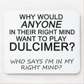 Right Mind Dulcimer Mouse Pad