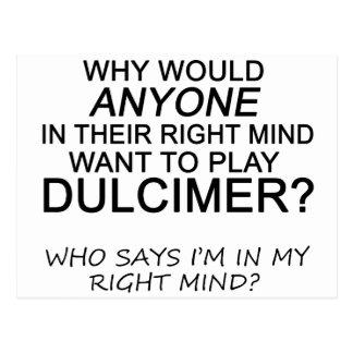 Right Mind Dulcimer Postcard
