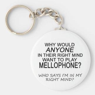 Right Mind Mellophone Basic Round Button Keychain