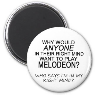 Right Mind Melodeon Magnet