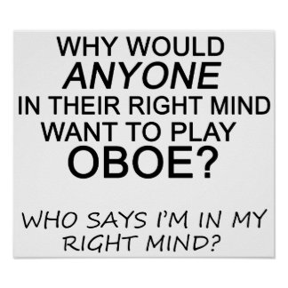 Right Mind Oboe Poster