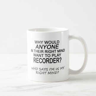 Right Mind Recorder Mugs