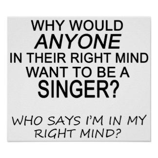 Right Mind Singer Poster