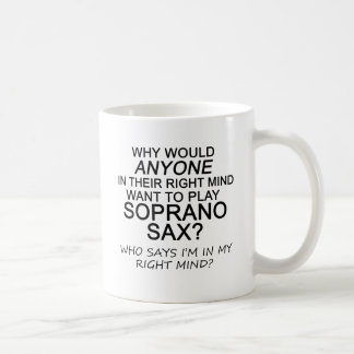 Right Mind Soprano Sax Mug