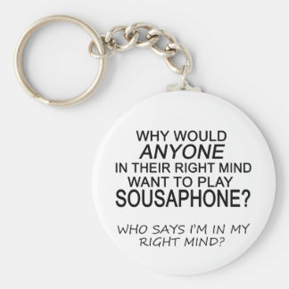 Right Mind Sousaphone Keychain