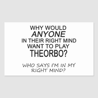 Right Mind Theorbo Stickers