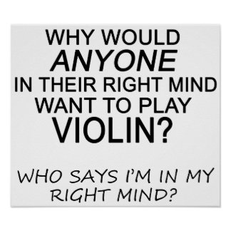 Right Mind Violin Posters