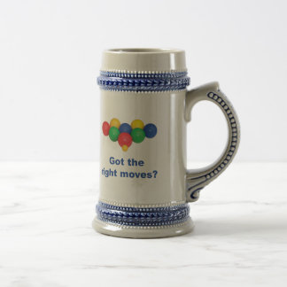 Right Moves Bocce Ball 18 Oz Beer Stein