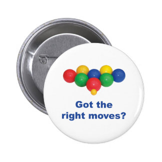 Right Moves Bocce Ball Pin