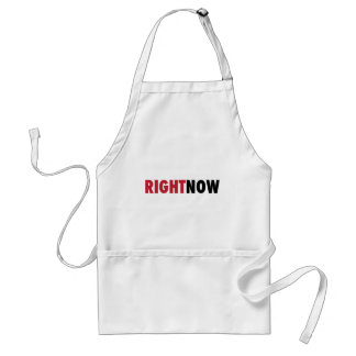 Right Now Adult Apron