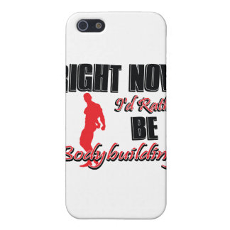 Right now I'd rather be body building iPhone 5 Case