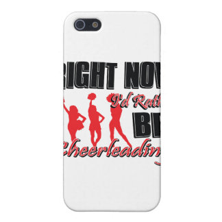 Right now I'd rather be cheer leading iPhone 5 Covers