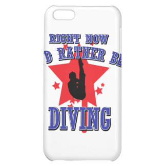 Right now I'd rather be diving iPhone 5C Covers