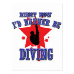 Right now I'd rather be diving Postcard