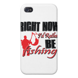 Right now I'd rather be fishing Case For iPhone 4