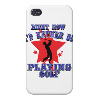 Right now I'd rather be playing golf iPhone 4/4S Cover