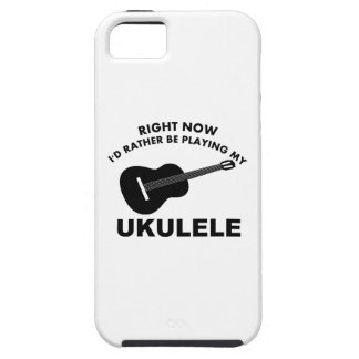 Right now I'd rather be playing the UKULELE. iPhone 5 Cover
