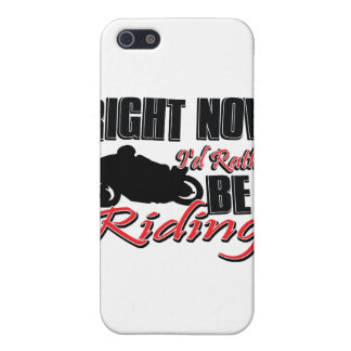 Right now I'd rather be riding my Bike iPhone 5 Covers