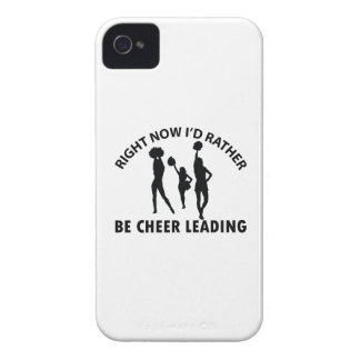 Right now I'd rather Cheerleading gift items iPhone 4 Case-Mate Cases