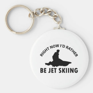 Right now I'd rather Jet Skiing gift items Keychain
